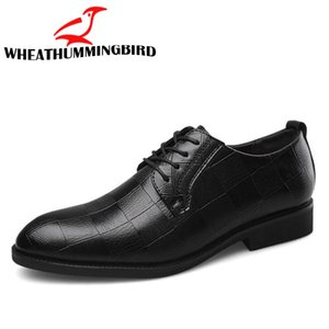 Nero Marrone Low Top Scarpe Uomo Studio scarpe da uomo vestito BIG / Plus Size 38-47 uomini d'affari di nozze piatto Oxford scarpe LK-45