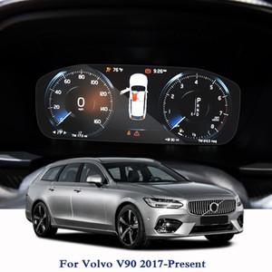 GPS-навигационный экран стальная стеклянная пленка для Volvo V90 2017-настоящее время TPU приборная панель экран фильм стикер автомобиля аксессуары