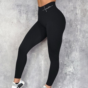Fashion Yoga Pants Sports Leggings High Waist Seamless For Women Workout Slim Gym Fitness push up Winter Running GymTights Pants T200601