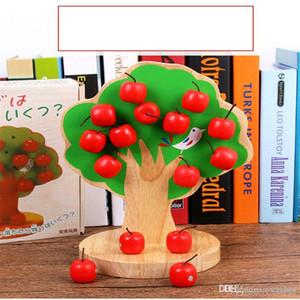 어린이 나무 자기 사과 나무 아기의 선택 사과 과일 유치원 조기 교육 수학을 붙여 2018 새로운 장난감