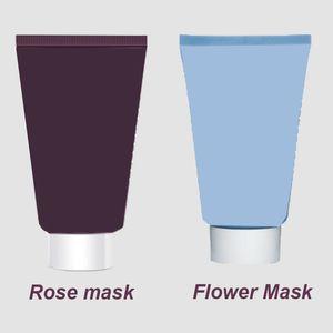 Top quality Black Rose Cream Mask Express Flower Gel Facial Gel Mask 60ml