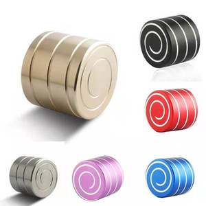 Spinning Decompression Desk Top Toys Anti Stress Fidget Spinner Motion Spiral Toys for Kids Adults HH7-421