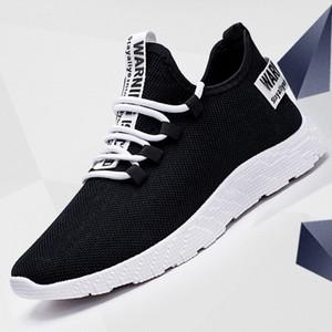 Oeak Erkekler vulcanize Ayakkabı Sneakers Nefes Casual No-slip Erkekler 2019 Erkek Hava Mesh Dantel Aşınma dirençli Ayakkabı tenis Masculino kadar