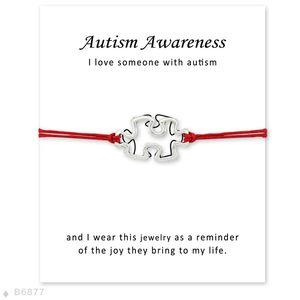 Machen Sie einen Kampf für eine Heilung Hoffnung Glaube Liebe Band Puzzleteile Charme Autismus Diabetes Diabetic Awareness Armbänder für Frauen