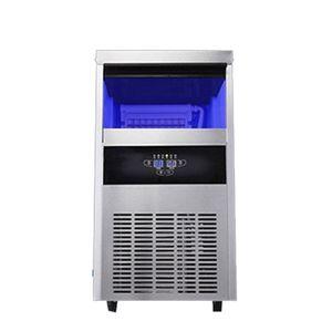 Qihang_top 68кг / 24H Автоматическая Льдогенераторы Коммерческий куб льда 220 льда блок делая машины для продажи