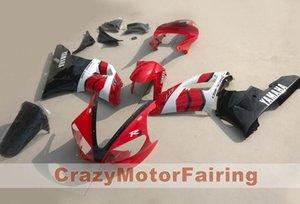 4 подарка Новый пресс-формы ABS мотоцикл комплекты для Yamaha YZF-R1-1000 2000-2001 00 01 Высококачественный обтекатель кузова на заказ красный черный