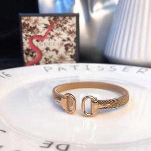 design de luxe femmes bijoux Bracelets Nouveau modèle 2019 sera en vente Bracelets double GG boucle en fer à cheval