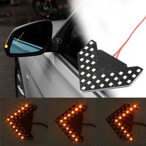 Niscarda 2 шт. авто Автомобиль боковое зеркало света LED Flowing Turn Signal индикаторы стрелка 33 SMD последовательные стрелки желтый лампа