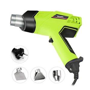 2000W Hot Air Gun Portable Heat Gun Heat Shrink Blower with 3 Nozzles Temperature Adjustable Industrial-grade Tool