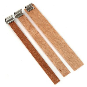 Wooden Wicks Candle Core Set Home Shop Decorations DIY Handmade Candle Candlelight Pillar Making Supplies