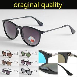 Ray Markendesigner polarisierte Sonnenbrille Frauen Männer ERIKA 4171 Sonnenbrille Mode eyeware uv400 Schutzgläser des lunettes de soleil