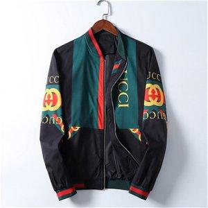 Top quality Mens Designer Jacket Zipper Hoodie Jackets Fashion Mens Jacket 20SS Men Casual Windbreaker Winter Outdoor Streetwear Coat