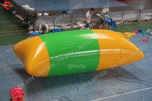 7x3m PVC aufblasbare Wasserzone Blob Jump oder springendes Kissen für Mietwasser Jump Launcher Inflatable Water Blob zum Verkauf