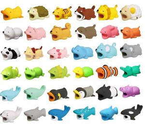 Phone Cable Protector For Cell Phone Charger Cable Bite Cute Animal USB Charger Data Protection Cover Mini Wire Cord Accessories Creative