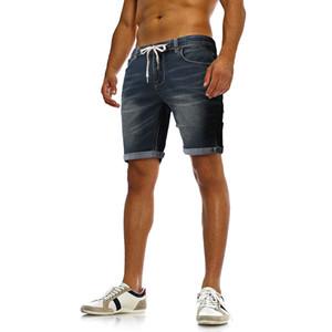 Summer hot 2019 nouveaux jeans simples décontractés pour hommes occasionnels, jeans en dentelle de couleur unie confortables