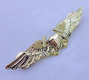 tomwang2012. US USMC Aviation Oficial Piloto Asa Pin Badge Insignia Gold-D267 Boxing Anel