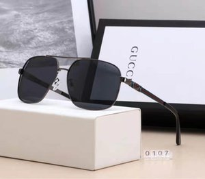 2020 Mens Designer Sunglasses Woman Brand Sunglasses Fashion Sun Glasses Half Frame Tortoise Green Glass Lenses Des lunettes De Soleil