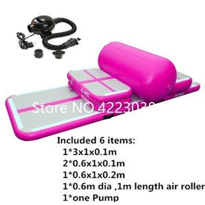 Freies Verschiffen ein Satz (6 Stück) Sealed Air DWF Inflatable Air Track zum Verkauf, aufblasbare Airtrack Gymnastic Air Mat