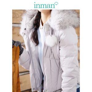 abbigliamento invernale nuova fan art tessuto cuciture delle donne Inman caldo piumino femminile giacca