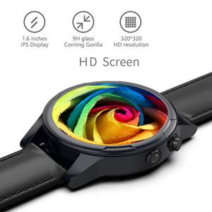 De lujo más nuevo de moda Hombres Mujeres reloj elegante androide 7 4g B1 B2 B39 Sim WIFI 2MP cámara GPS del ritmo cardíaco IP67 a prueba de agua SmartWatch
