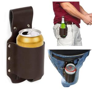 Escalada ABEDOE al aire libre que acampa yendo 1pc pistolera de botellas Botellas portátil de cinturón cerveza bolsa práctico Wine Beverage Can Holder