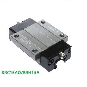 10 unids / lote Taiwán ABBA BRC15AO / BRH15A Lineal Flange Block Carriage Linear Rail Guide Bearing para CNC Router Laser Machine