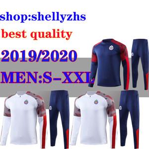 LIGA MX костюм футбол 19 20 Чивас спортивный костюм 2019 2020 МЕКСИКА клуб LIGA MX A.PULIDO трико костюмы де лапка Футбол куртка