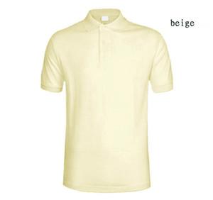 Mens été t-shirt France Design Polo Manteau Coton Double Boucle Logo Crocodile Casual Mode respirant Hommes Polo Shirt