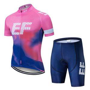 İyi Yaz Ef Education First Team Bisiklet Jersey Erkekler Kısa Kollu Yarış Giyim Mtb Bisiklet Giyim Maillot Ciclismo Y040905 ayarlar