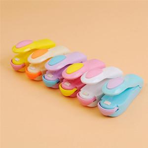 Mini termosaldatura Macchina magnetica inferiore Impulse sigillante Seal Imballaggio sacchetti plastica di vuoto alimentari Sealer Strumenti 400pcs T1I1740