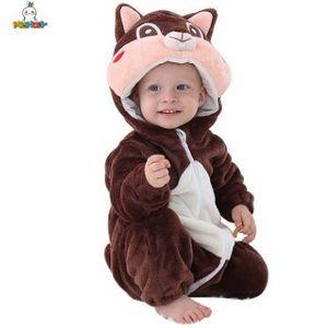 Michley Fanila Karikatür Hayvan Şekli Ha Giyim On Sale 0-2 Yaşında Bebek Giyim Bebek Tarama Giyim