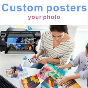 Coutume soie Poster Copie de toile 60x90 cm Anime Film Paysage Poster sur mesure pour votre maison décorations