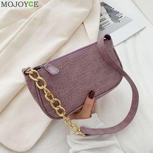 2020 Lady Zipper Armpit Sling Handbag Women Solid Color Hobo Shoulder Bags Light Wild Simple Female Daily Bag