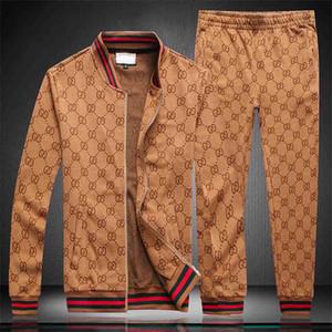 Herren Sport Anzug Sweatshirts Suits 2019 Italien Luxuxentwerfer Tracksuits Marke Hoodies Jacken Herrenmode Medusa Sportanzug