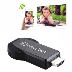 AnyCast M2 Plus Wireless WiFi Display Dongle Receiver Airplay Miracast DLNA 1080P HDMI TV Stick для iPhone, Samsung и других Android Smart
