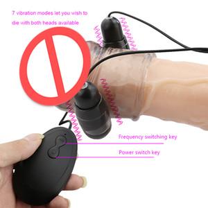 Danzayi 7 Modalità Mouse Vibrazione Penile Delay Trainer Maschio Esercizio Set Masturbatore maschile stimolazione punto G av130