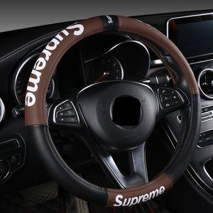 Nova de direcção do carro da marca maré tampa da roda tampa do volante universal quatro estações
