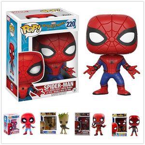 Nicegift Melhor Funko POP Spider-Man veneno Modelo Figura Coleção Modelo Presentes brinquedo