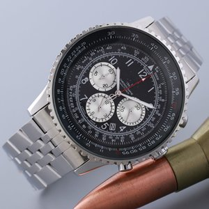 2020 marque BREIT de loisirs de la mode masculine de table automatique montre à quartz orologio uomo luxe Les loisirs de la mode montre-bracelet de ceinture en acier