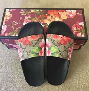 zxlggvvn327 nouvelles femmes d'hommes Design Flip hommes de brocart Floral slide caoutchouc Flops femmes rayées Plage pantoufle de cause à effet