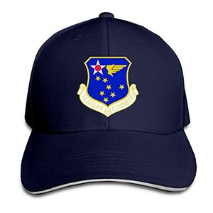 Alaska Air Command Subdued Patch Baseball Caps Sandwich regolabile esterna Baseball Cap Unisexe Uomo Donna baseball Sport Hip-hop Cap