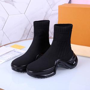 Известный бренд высокого качества мужская повседневная обувь носки плоские моды морщинистые кожаные кружева высокие мужские туфли на арене повседневная тренер size35-41