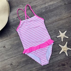 Kinderbadebekleidung Mädchen Badeanzug Bikini-Badeanzug für Kinder One-Piece Suits Swim Bodysuit-Badeanzug