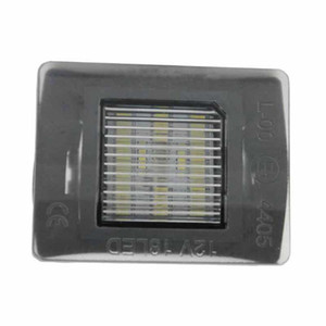 2PCS 18SMD LED License Plate Lights Lamp for W117 W218 Number Plate Lights Lamp Car-styling