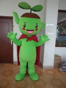 Хэллоуин чайник мальчик костюм талисмана высокое качество мультфильм зеленый росток аниме тема персонаж рождественский карнавал ну вечеринку необычные костюмы