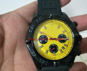 Reloj de alta calidad de 44 mm MB0111C3 | I531 | 262S | M20DSA.2 movimiento de cuarzo cronógrafo masculino de los hombres correa de caucho reloj de los relojes