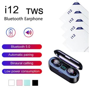i12 i9S I11 Inpods 12 F9 TWS Bluetooth V5.0 Wireless Headphones Pop Up Window Earphones Stereo Touch Control Headset Earbud With Mic