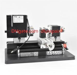 Thefirsttool TZ20002MG Мини Металлический токарный станок B Machine с 12000r / мин 60W Двигатель Больше обработки Радиус DIY Инструменты Подарок для детей