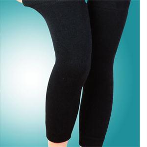Черный Navy грелка Keep Warm Леггинсы Длинные Эластичная Kneepad Knee Guard колодки поддержки Protector Женщины Body Shaper Открытый