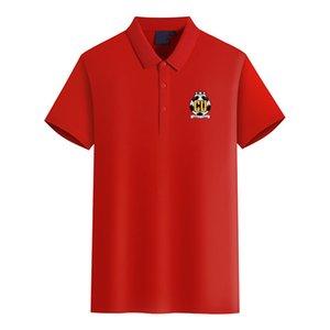 Cambridge United FC 2020 deportes de negocio de los hombres de manga corta ocasional del verano de la nueva camisa de polo de gran tamaño puede ser DIY de polo de los hombres de moda